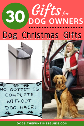 A list of 30+ gifts for dog owners that I use and... my dogs love!