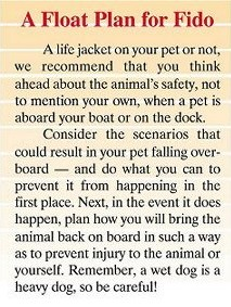 A float plan for Fido