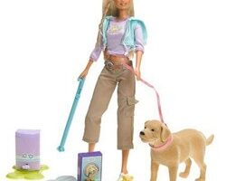 Pooper-Scooper Barbie & Tanner The Dog