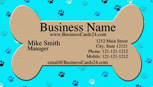 Create professional dog business cards in minutes the dog guide dog business cards bone colourmoves