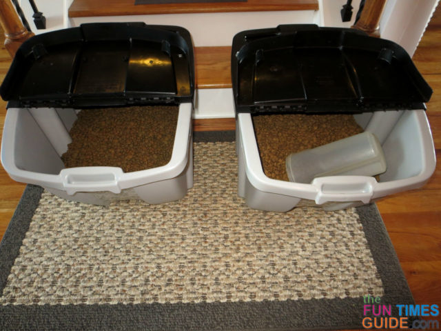 Kitchen Dog Food Storage Ideas See How This Organized Pet