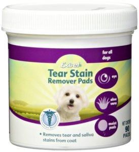 Shih Tzu tear stain remover pads