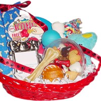 Doggie Deliveries personalized gift baskets for dogs.