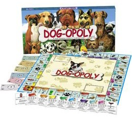 Dogopoly board game.
