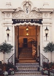 Doris Day's dog-friendly hotel, the Cypress Inn located in Carmel-by-the-Sea California.