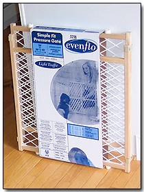 Evenflo baby gate.