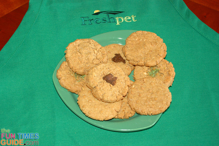 The Freshpet Ready To Bake Dog Cookies look so good -- just like human cookies!