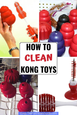 Tips for cleaning Kong dog toys