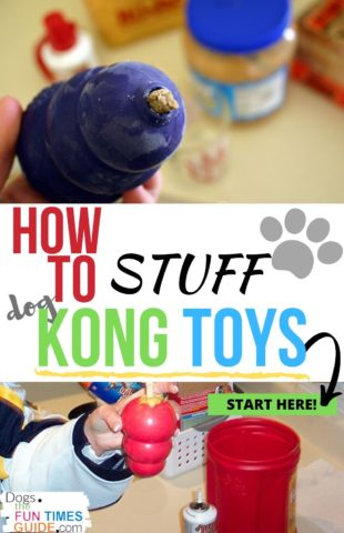 How to stuff Kong toys for dogs