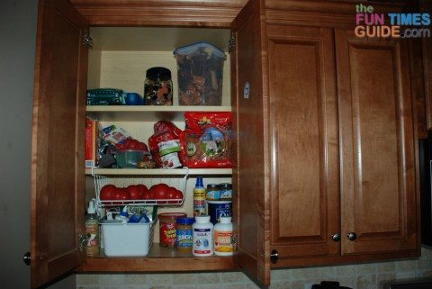 kitchen-cabinet-for-dog-stuff