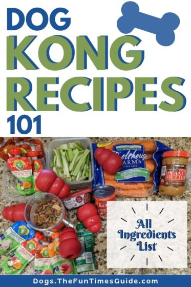 Kong Recipes 101 - All Ingredients List!
