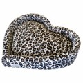leopard-heart-dog-bed