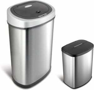 This Simplehuman motion sensor trash can is one of the best gifts for dog owners... and relatives of dog owners!