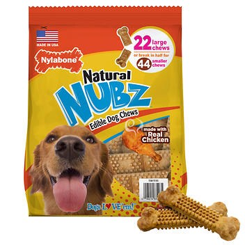 Nubz dog chews are one of the best dog dental chews out there!