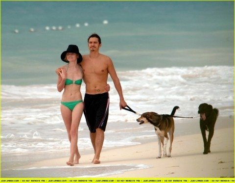 orlando-bloom-kate-bosworth-dogs