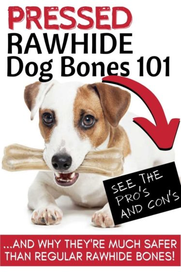 Pressed rawhide bones for dogs are 100% safe and I give them to my dogs all the time. See which ones and why…