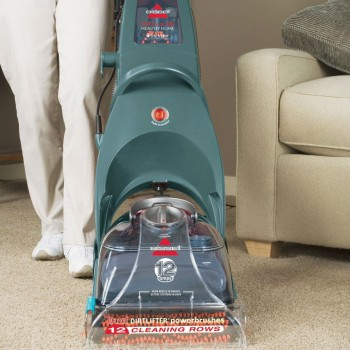 The ProHeat Bissell Carpet Cleaner is a steam cleaner that works just as great with spot cleaning as it does with deep cleaning. It's one of the more expensive gifts for dog lovers -- but it's worth it!