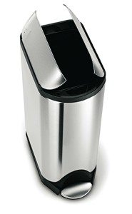 Beau Simplehuman Butterfly Lid Pedal Trash Can