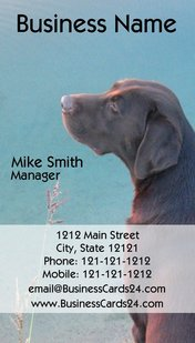 Create professional dog business cards in minutes the dog guide return address labels postcards tall dog business cards colourmoves