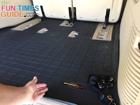 This is the WeatherTech cargo mat that we use in the back of our Escalade.